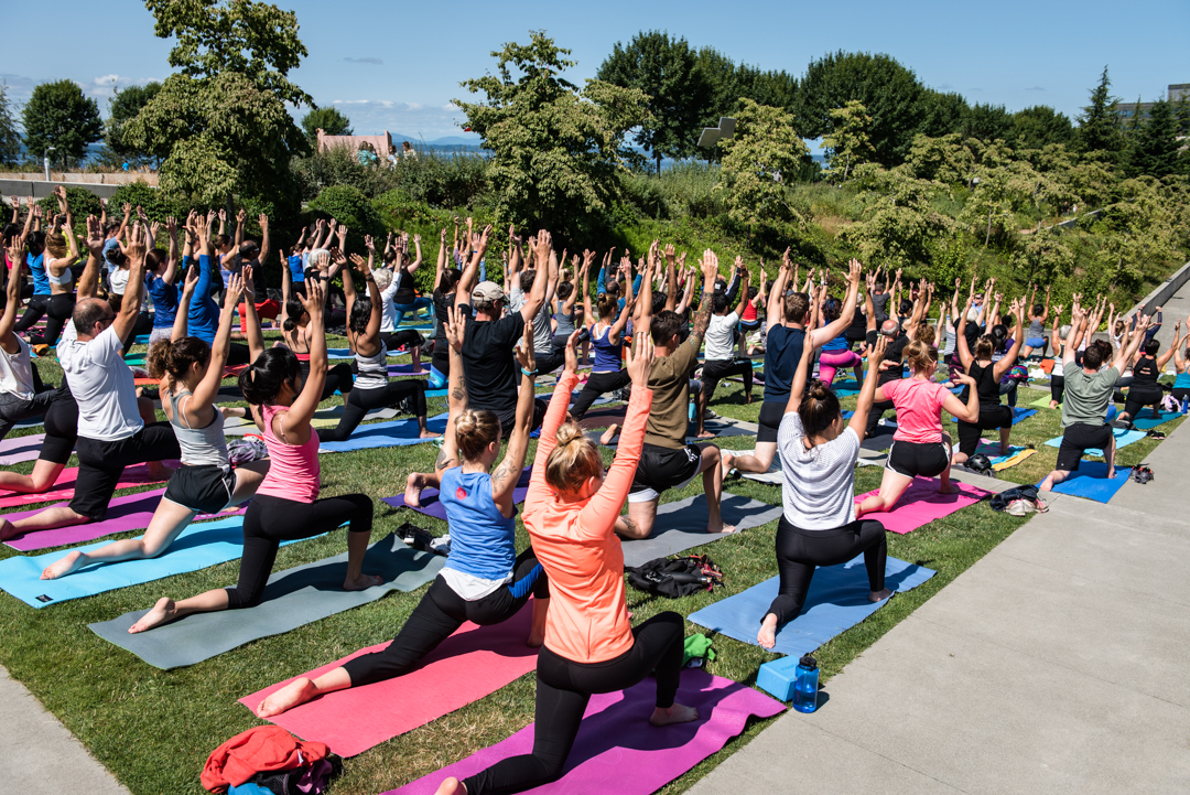 Yoga at Summer at SAM